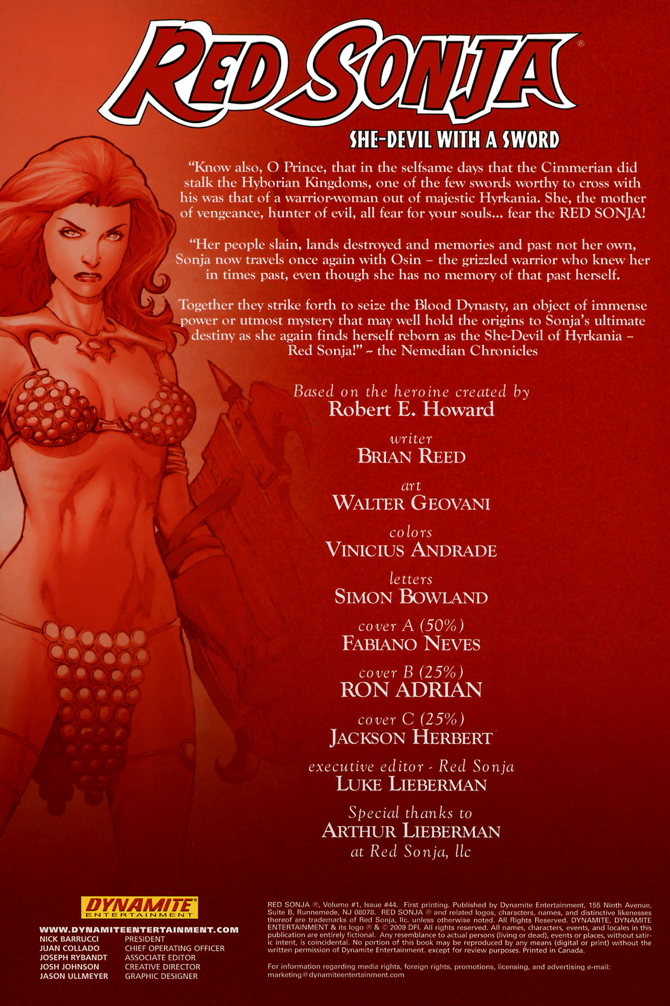 Read online Red Sonja (2005) comic -  Issue #44 - 4