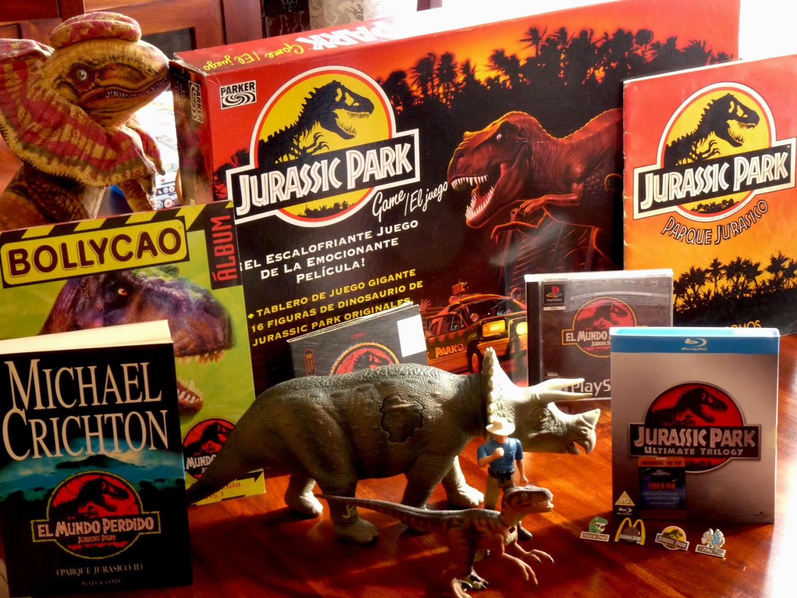 Cineptimo Arte Comparativa Entre El Merchandising De Jurassic Park