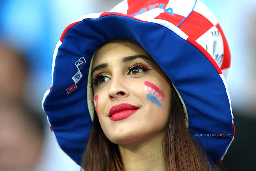ea6fe719b43 100 Photos of Hot Female Fans In FIFA World Cup 2018
