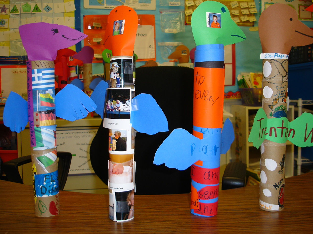 Tori S Teacher Tips Totem Pole Project