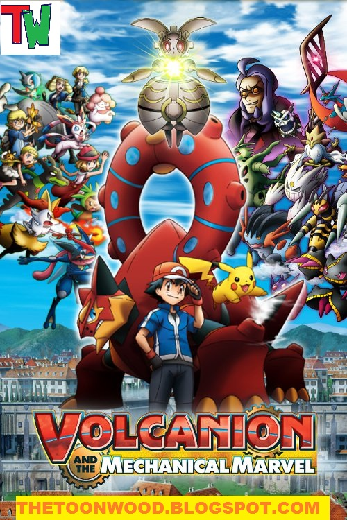Pokémon the Movie: Volcanion and the Mechanical Marvel (2016) Full Movie