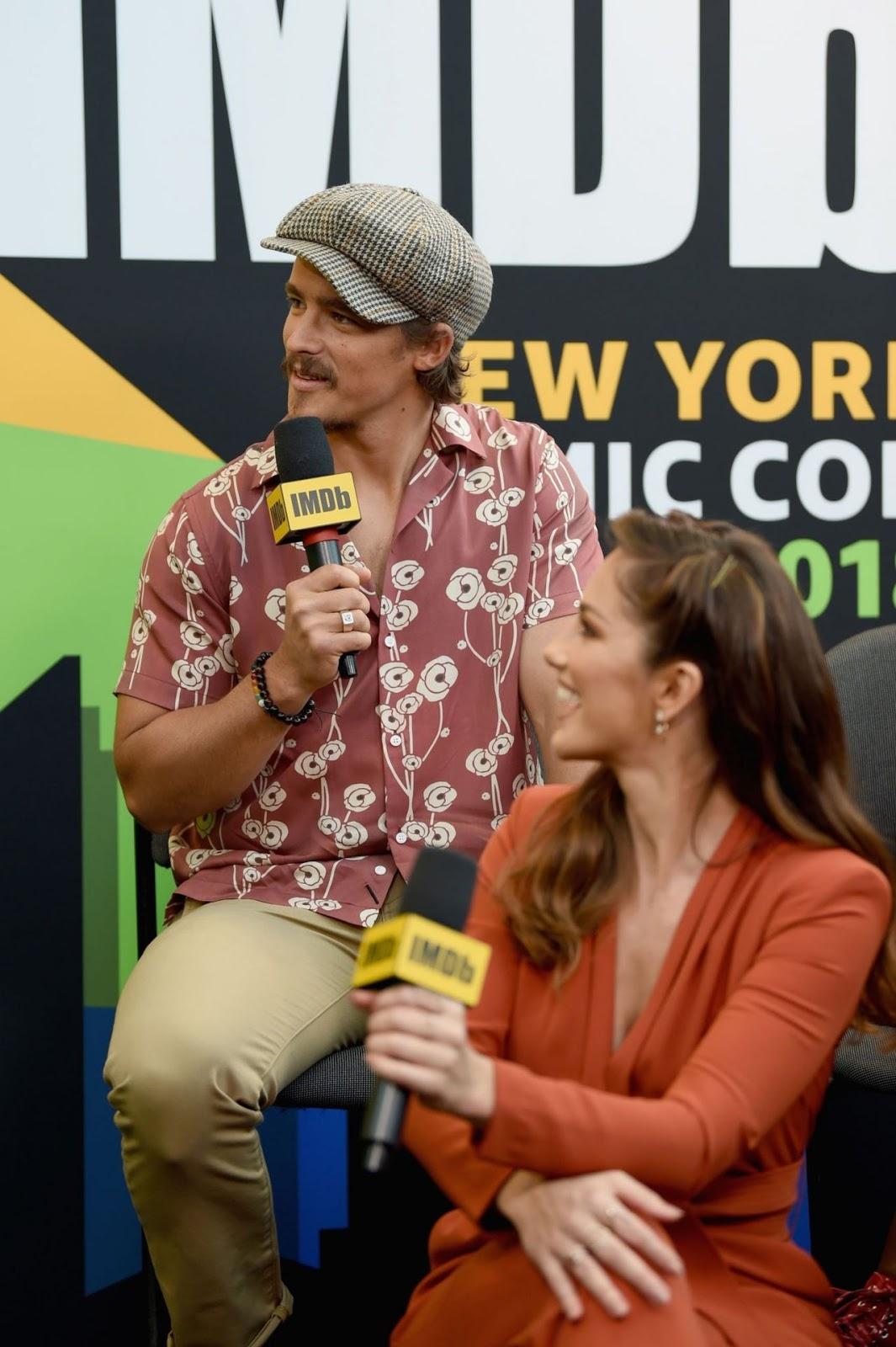 Minka Kelly – IMDb at New York Comic Con in NYC 10/05/2018