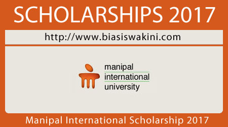 Manipal International University Scholarship 2017