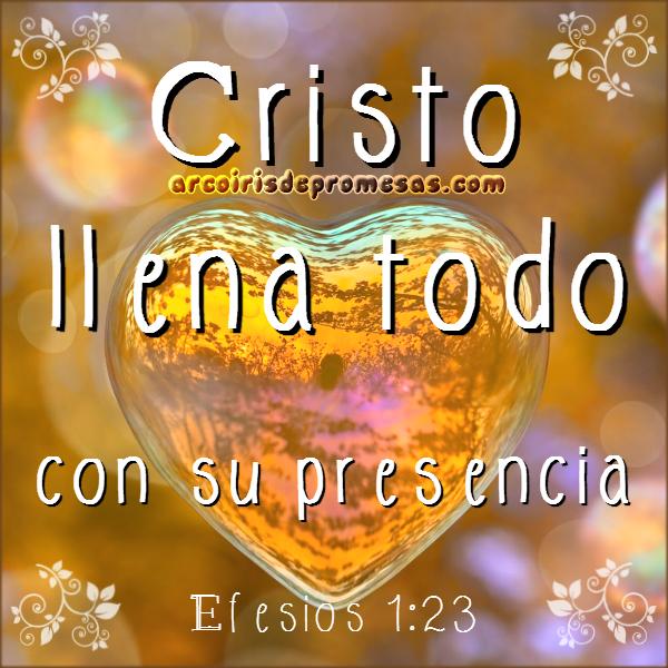 cristo la presencia de dios reflexiones cristianas con imágenes