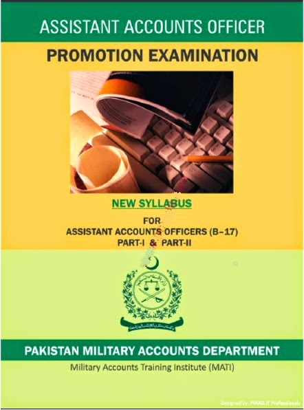 Syllabus of Assistant Accounts Officer Promotion Examination