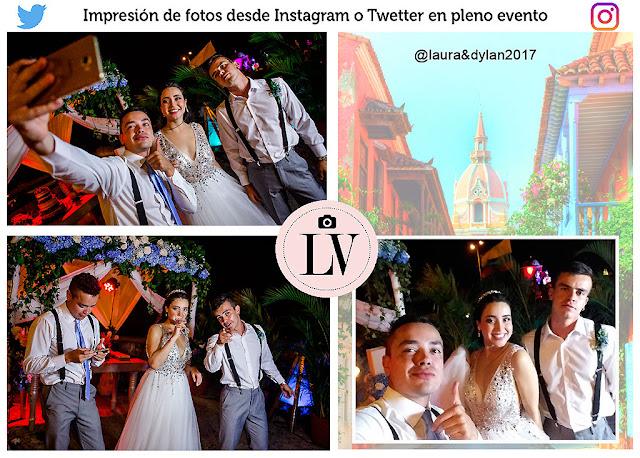 Imprimir fotos desde Instagram hashtag