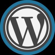 wordpress icon outline