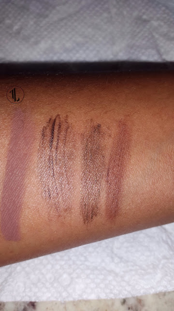 Tinted Brow Gel swatches www.modenmakeup.com