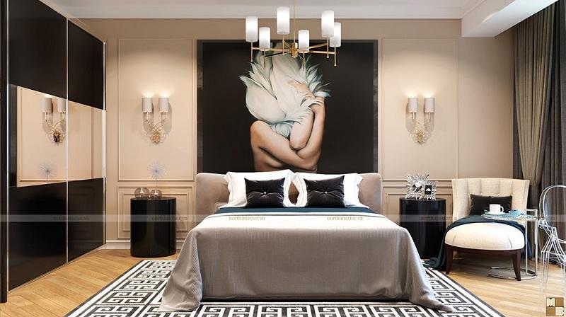 Thiết kế nội thất căn hộ 120m2 sang trọng, tiện nghi - H4