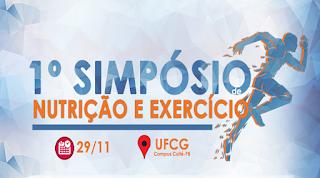 UFCG promoverá I Simpósio de Nutrição e Exercício em Cuité