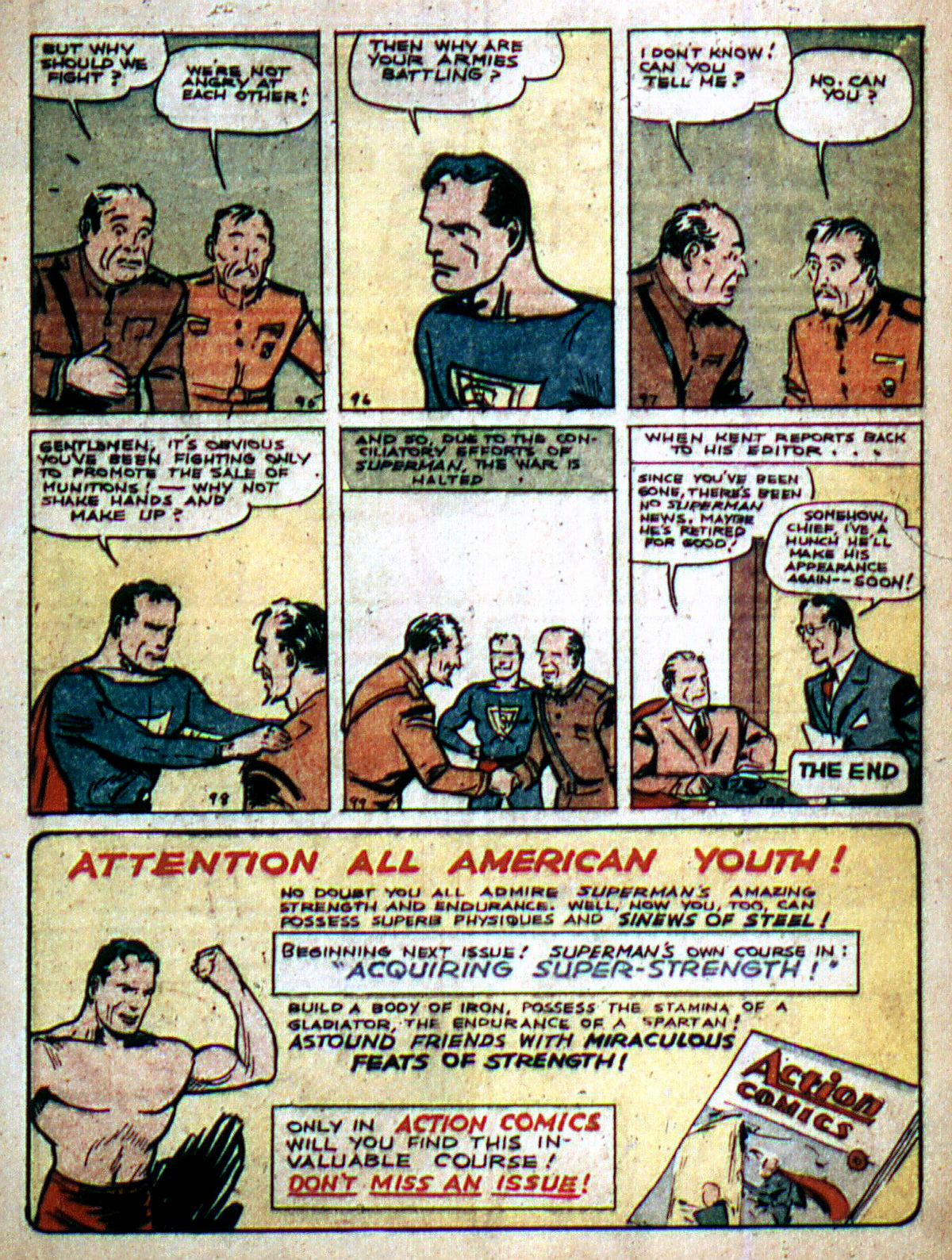 Read online Action Comics (1938) comic -  Issue #2 - 15