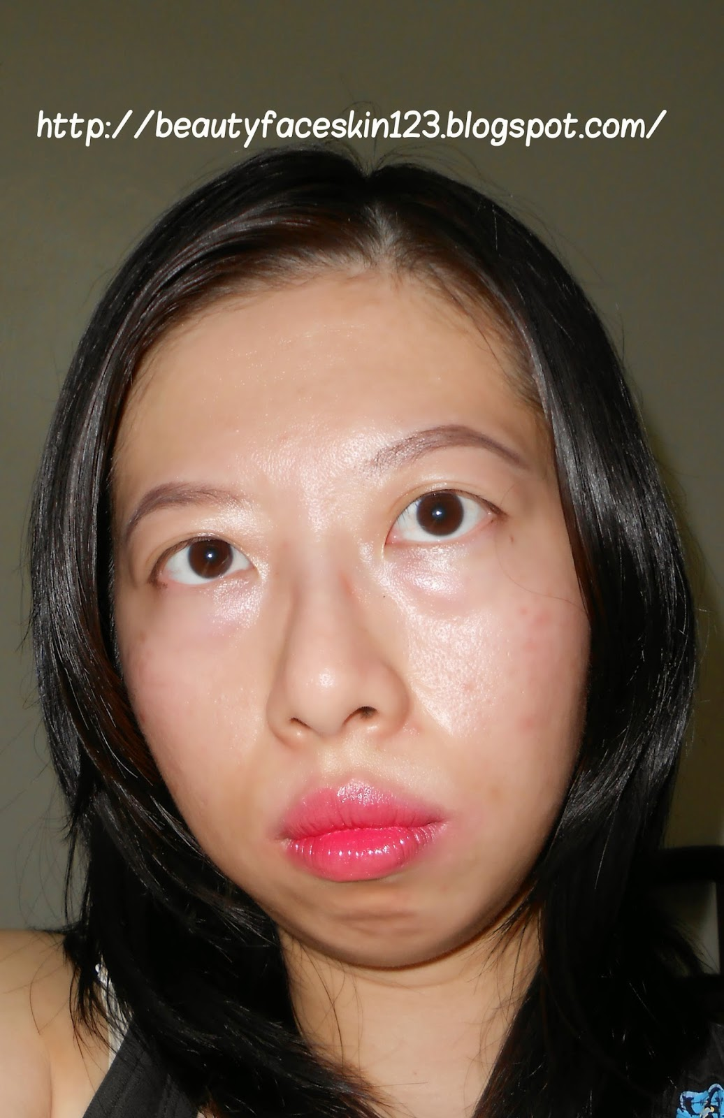 MAKEUP: KOREAN NUDE GLOWY MAKEUP&GRADIENT LIPS 2014