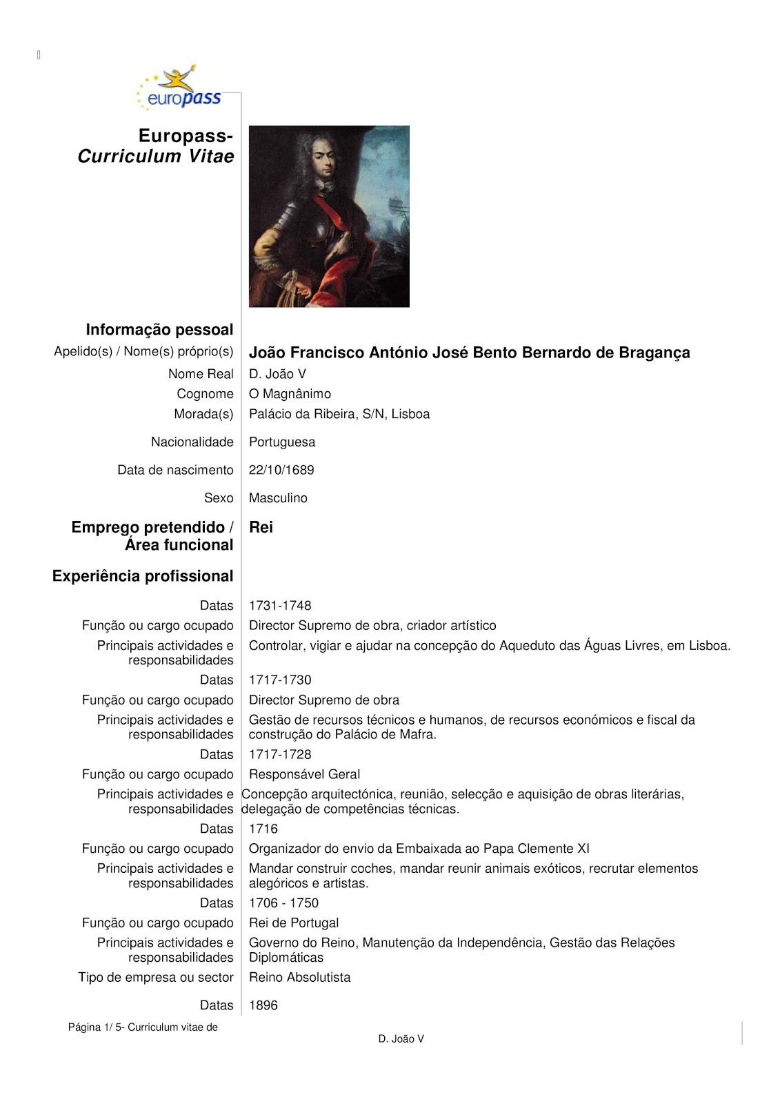 Portugues Cv Exemplo 2