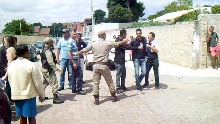 Princípio de Confusão em Seção Eleitoral de Morro do Chapéu, Veja o Vídeo