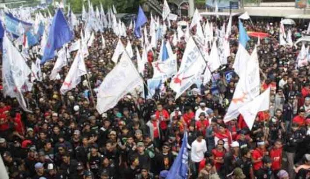 Tolak Perppu Ormas, Serikat Buruh Indonesia Akan Geruduk Gedung DPR