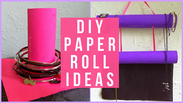 3 Paper Roll Jewelry Organization Life Hacks & Ideas