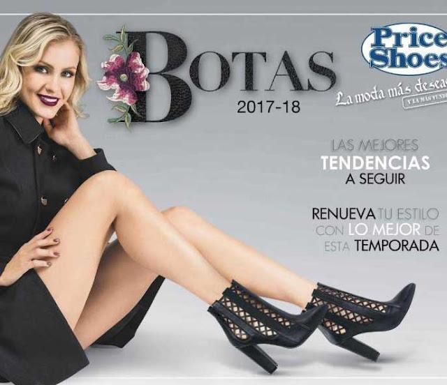 Catalogo Botas damas Price shoes 2017