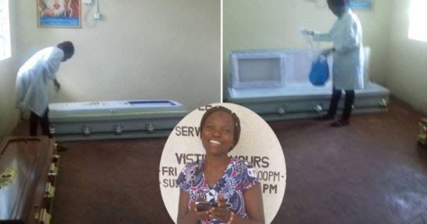 Meet The Female Kenyan Mortuary Attendant Who Cannot Stay Away