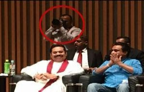 Udayanga Weeratunga  in Japan with Mahinda