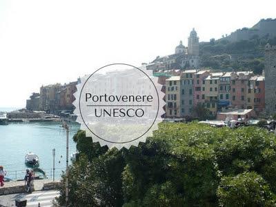 Guida ai siti UNESCO: Portovenere, Cinque terre, Palmaria : veduta di Portovenere