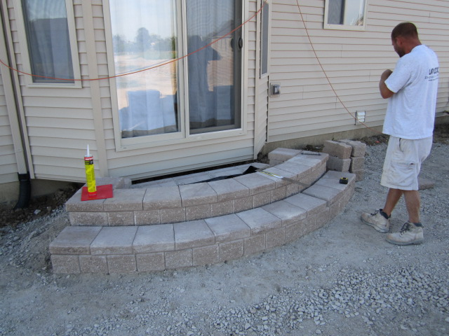 How To Build Patio Steps With Pavers