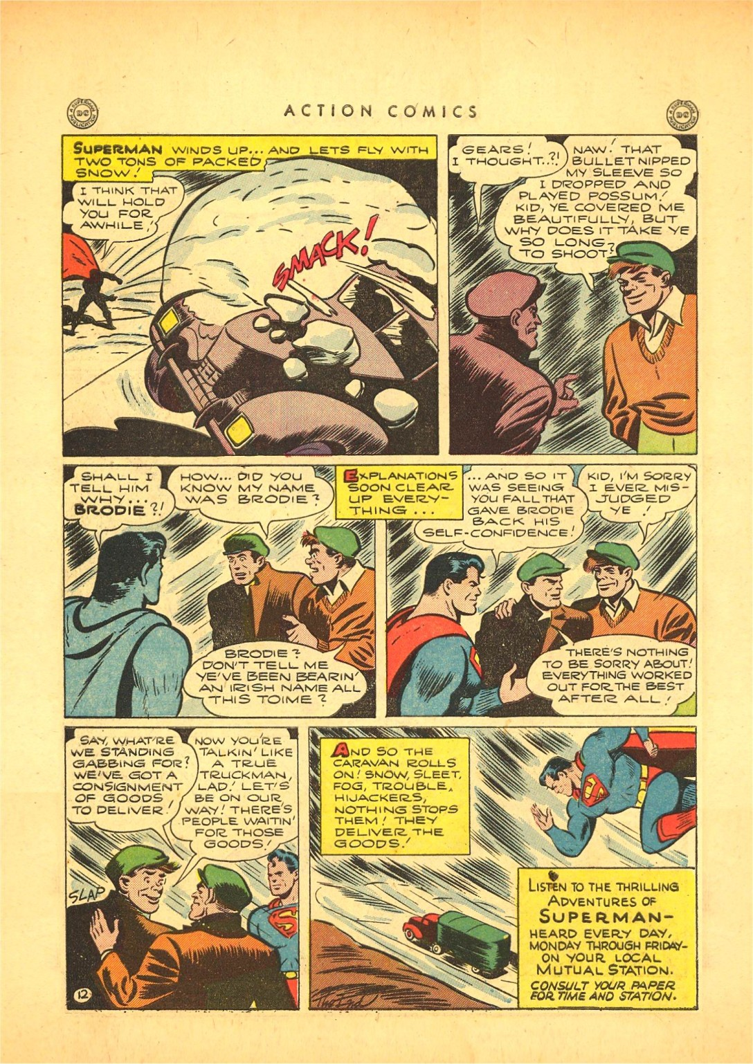 Read online Action Comics (1938) comic -  Issue #87 - 13