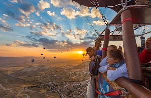 Hot Air Balloon - umroh plus turki 2015