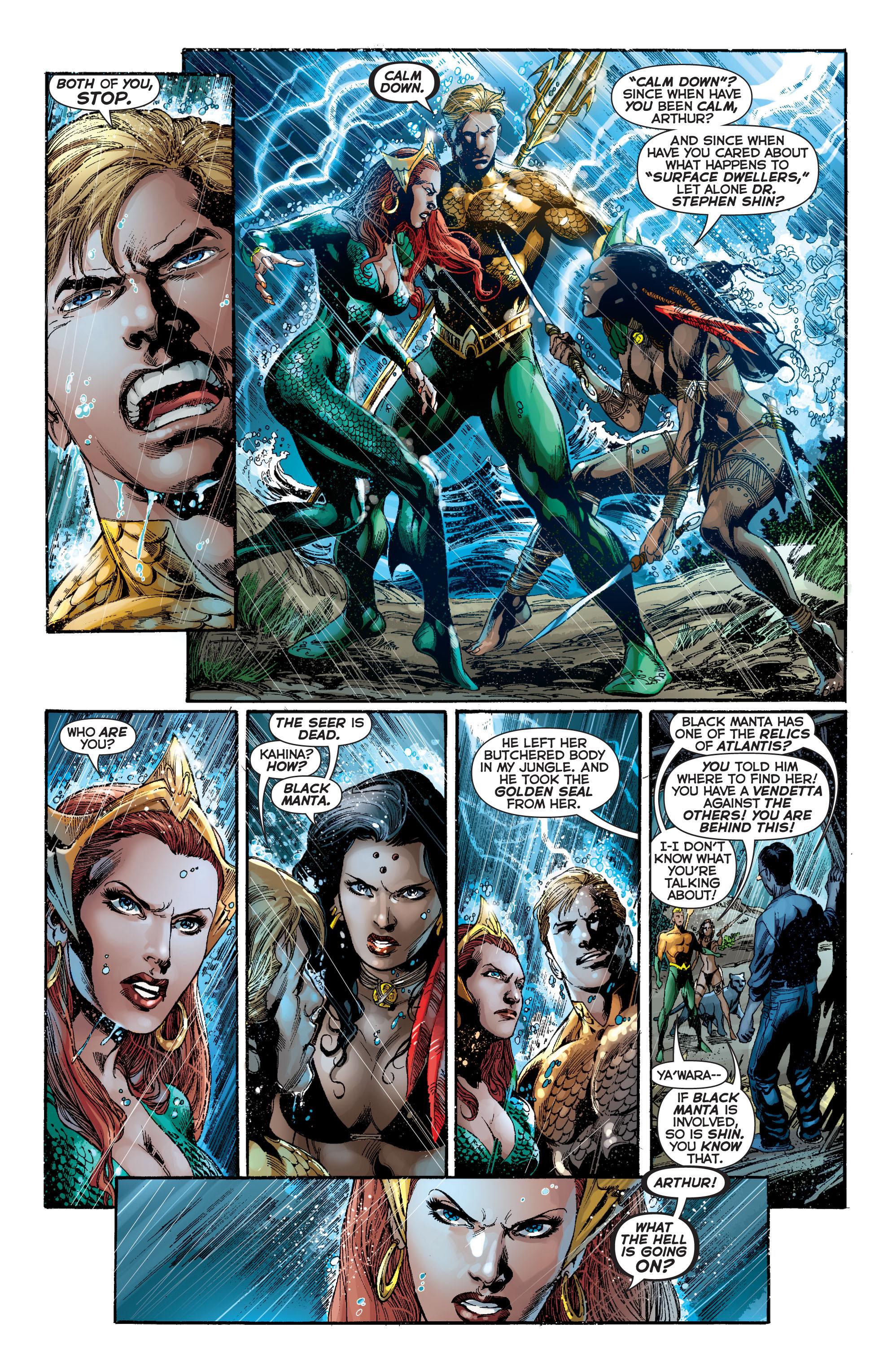 Read online Aquaman (2011) comic -  Issue #7 - 21