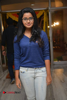 Actress Anupama Parameswaran Stills in Denim Jeans at Shatamanam Bhavathi Movie Preview Show  0001