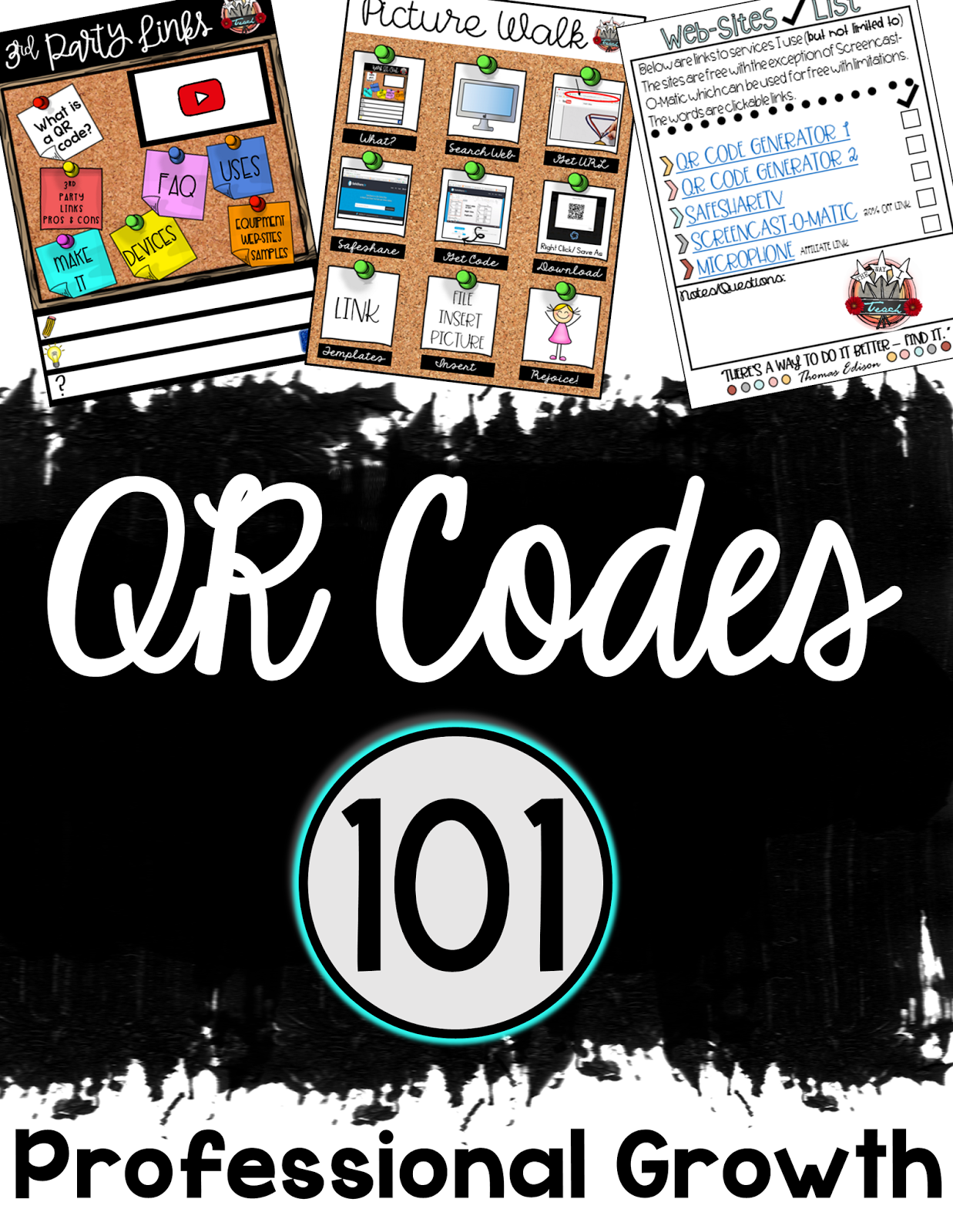 The Way I Teach: QR Codes 101: Creating a QR Code and Using