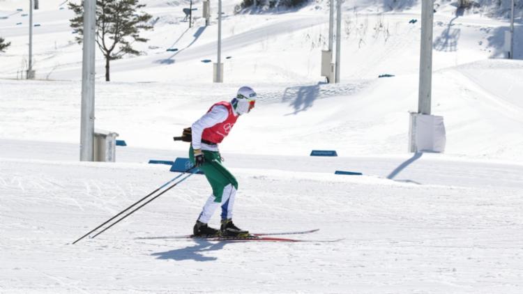 Victor Santos é prata em prova de esqui cross-country na Argentina