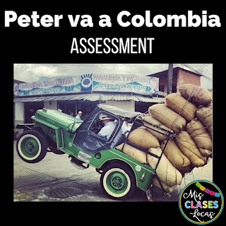 Teaching the Novel Peter va a Colombia - Mis Clases Locas