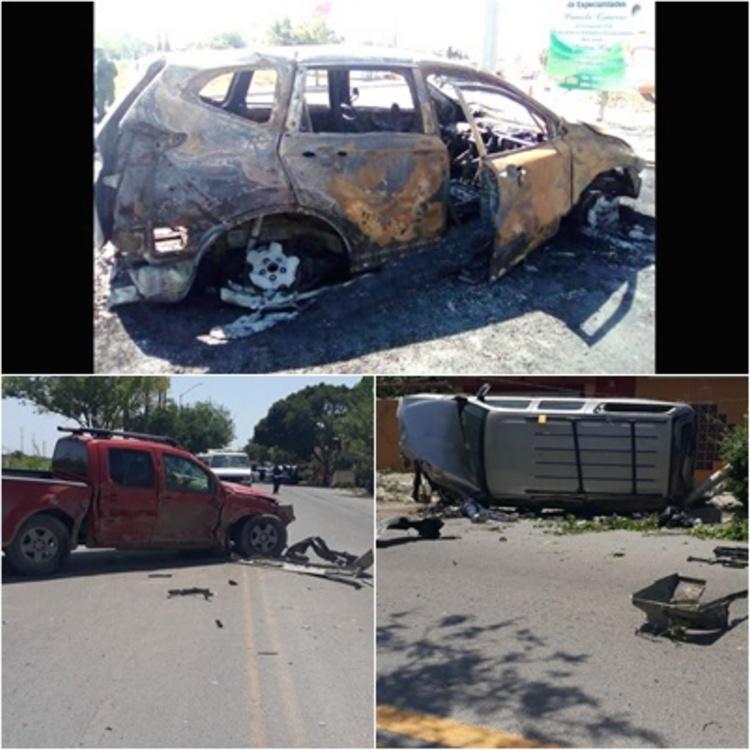 Enfrentamientos en Reynosa deja tres calcinados y tres abatidos