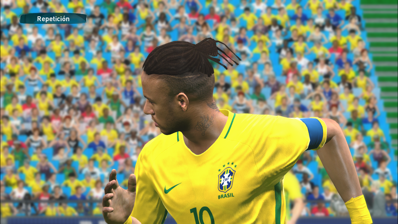 Neymar Jr 2018 New Hair Tattoo Pes2017 Released 19032018
