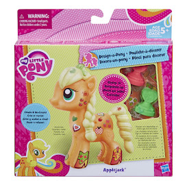 MLP Wave 6 Design-a-Pony Kit Applejack Hasbro POP Pony