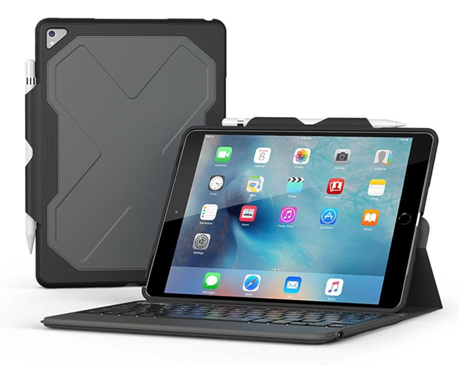 custodia e tastiera ZAGG Rugged Messenger per ipad