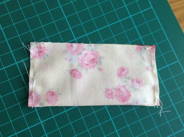 flap sewn on three sides
