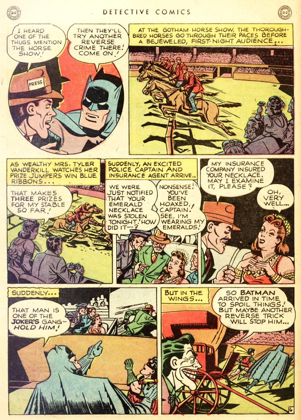 Read online Detective Comics (1937) comic -  Issue #128 - 8