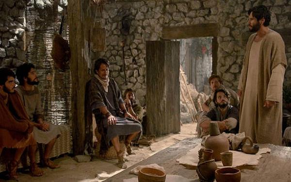 Novela Jesus: Jesus envia apóstolos para missões (06/11) (Imagem: Reprodução/RecordTV)
