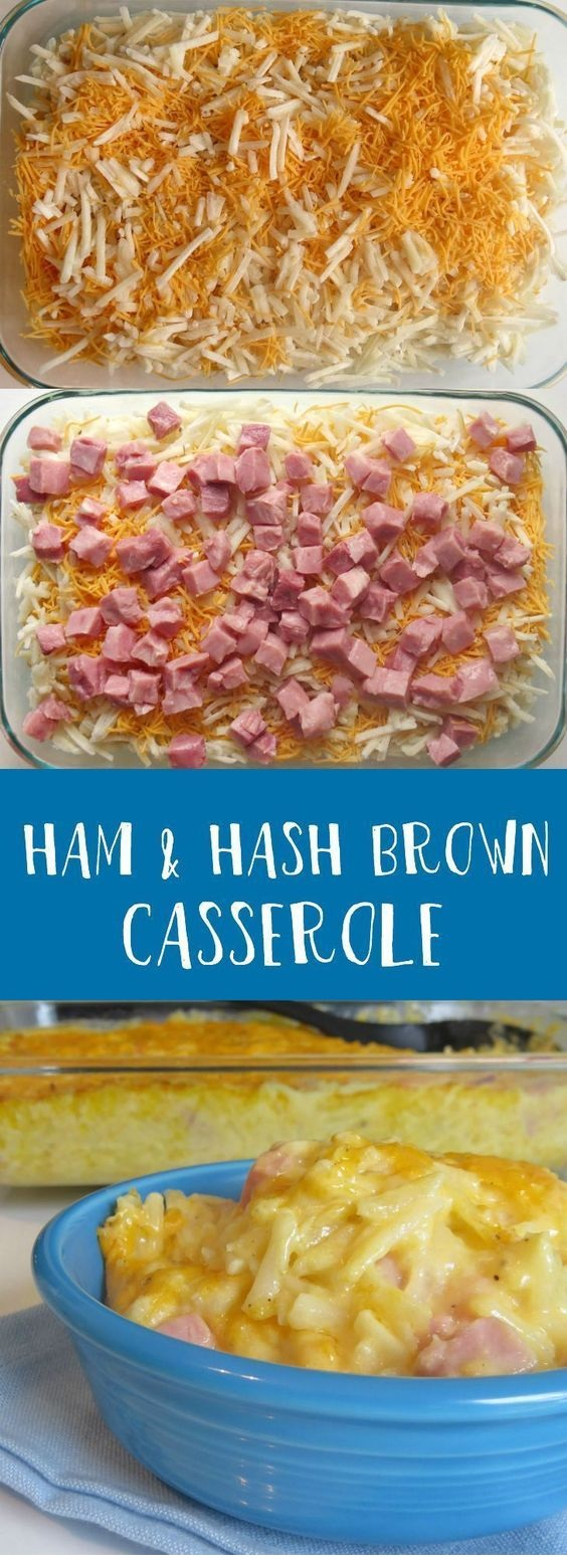 FISH RECIPES | Ham and Hash Brown Casserole