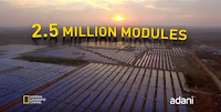 2.5 Million Modules (Credit: Adani) Click to Enlarge.