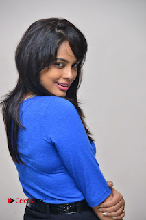 Actress Nandita Swetha Stills in Black Mini Skirt at Ekkadiki Potavu Chinnavada Movie Special Show  0034.JPG