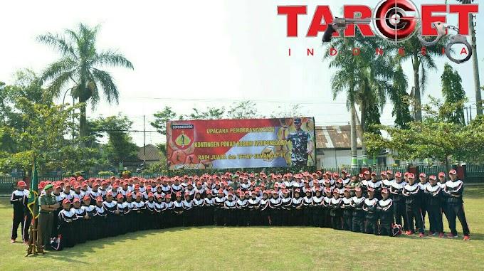 Kontingen Kodam IV Diponegoro Siap Bertanding di PORAD 2018 Magelang
