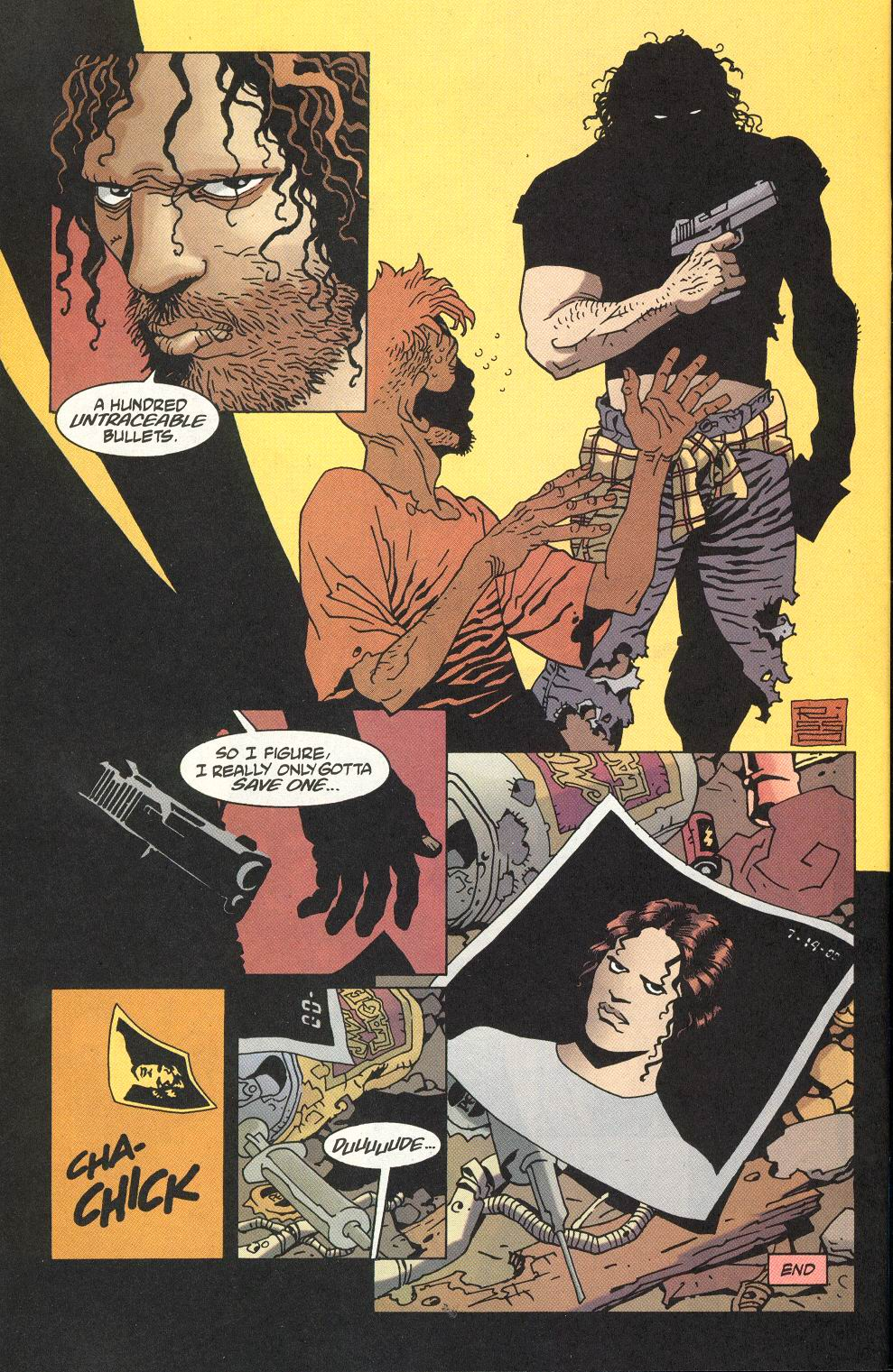 Read online 100 Bullets comic -  Issue #22 - 23