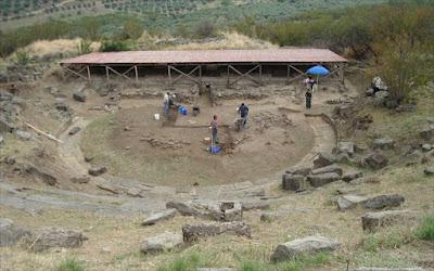 Γνωριμία με το Αρχαίο θέατρο των Φθιωτίδων Θηβών