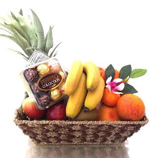 Fruit Basket Chocolate Hamper