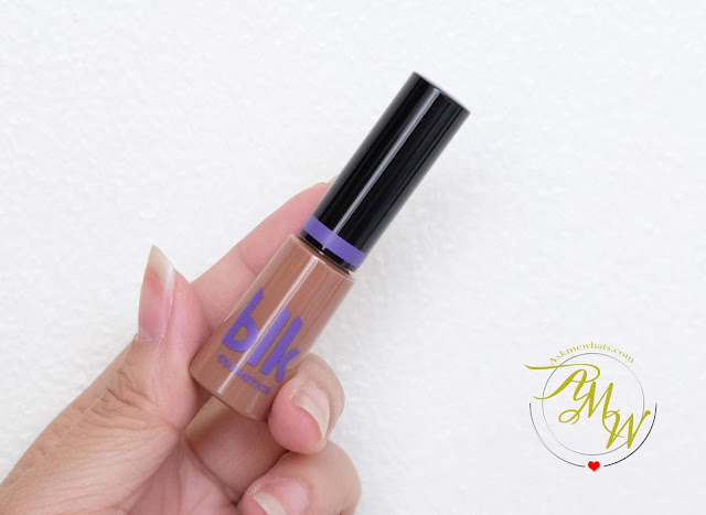 a photo of BLK Intense Color Liquid Eyeshadow The Bomb review by Nikki Tiu www.askmewhats.com