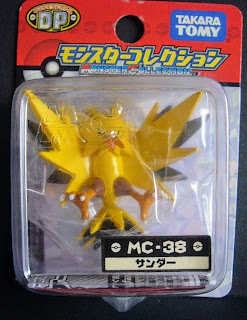 Zapdos new pose renewal figure Takara Tomy Monster  Collection MC series