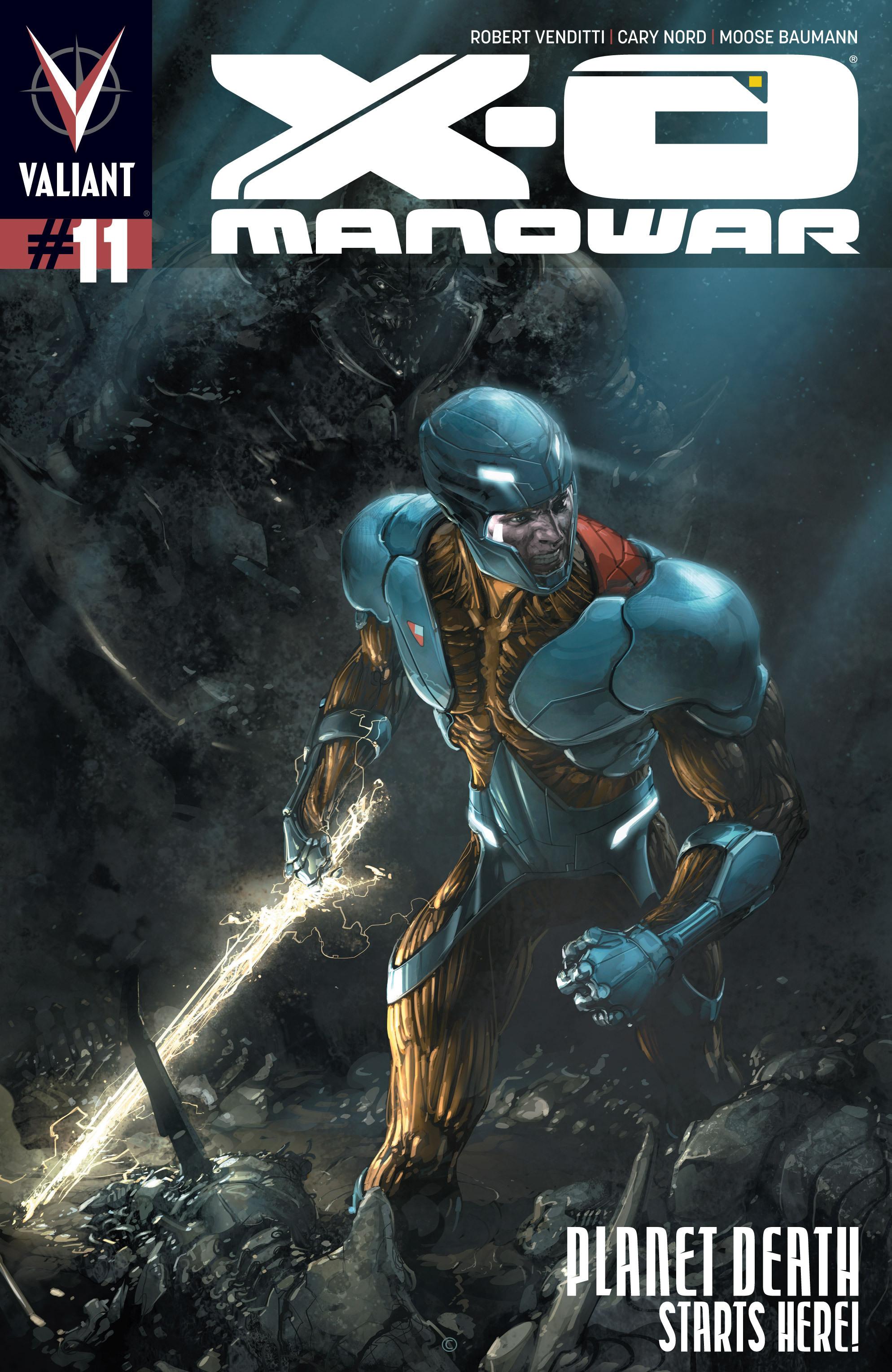 X-O Manowar (2012) 11 Page 1