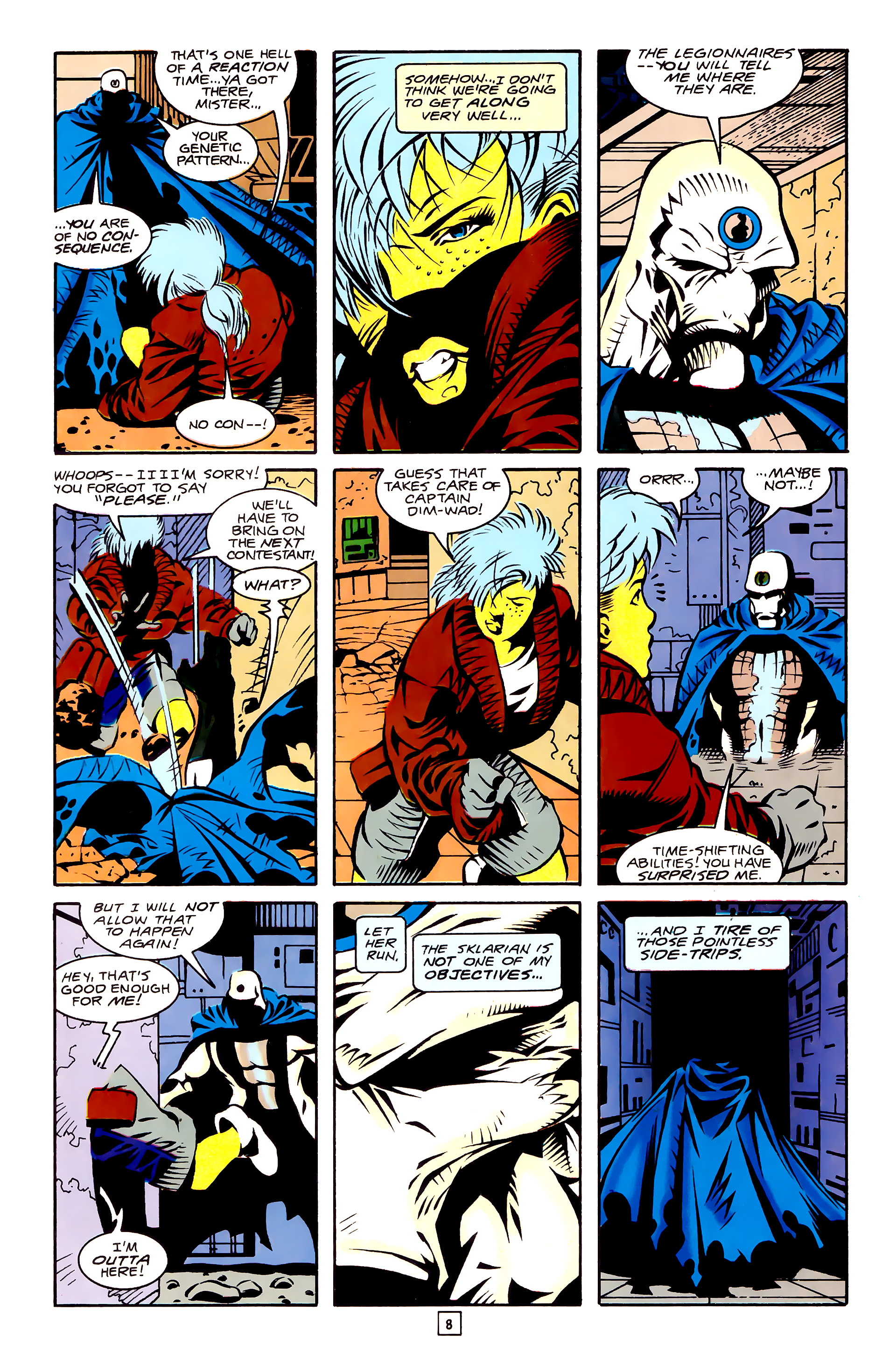 Legion of Super-Heroes (1989) 27 Page 8